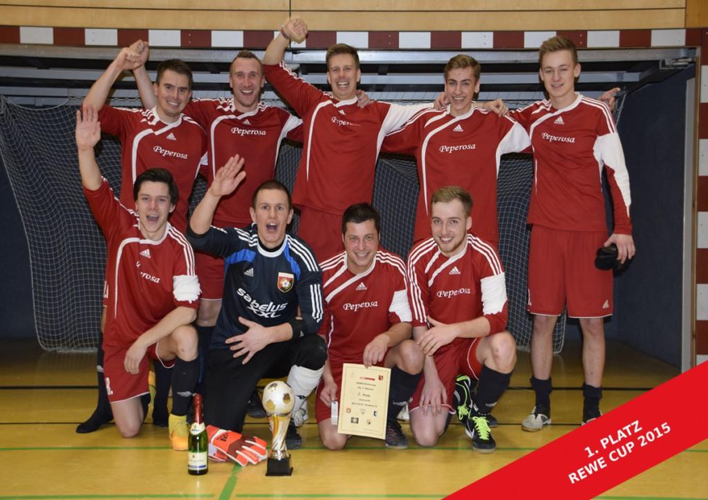 Siegerfoto REWE CUP 2015